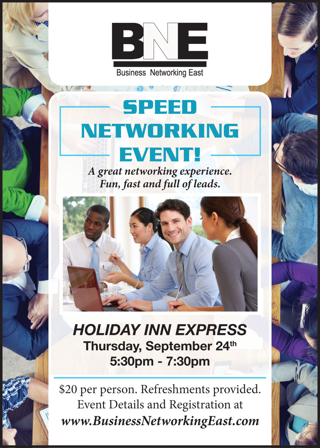 Speed Networking This Thursday Business Networking East